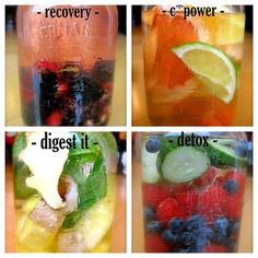 Zain's Signature All Natural Vitamin Water Flavors. Please click on photo for recipe and full health benefits.