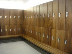 health club locker room design | Completed Health and Fitness Wooden Locker Projects