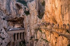 Caminito del Rey- World's Most Dangerous Hike Reopens