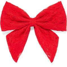 Carole Lace Bow Hair Accessory (12 045 LBP) ❤ liked on Polyvore featuring accessories, hair accessories, bows, hair, headwear, bow hair accessories and lace hair accessories