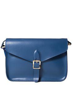 Angela and Roi Blue Cross-Body Bag