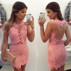 Pink Sleeveless 2019 Homecoming Dress 2019 Short Party Dress Online sold by lovedress. Shop more products from lovedress on Storenvy, the home of independent small businesses all over the world. Elegant Dresses, Sexy Dresses, Beautiful Dresses, Short Dresses, Fashion Dresses, Best Party Dresses, Party Dresses Online, Dress Online, Dress Party