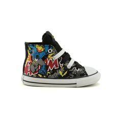 149ace08f9124a Toddler Converse All Star Hi Batman Athletic Shoe
