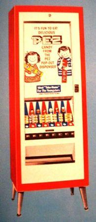 Boy & Girl vending machine for PEZ candy