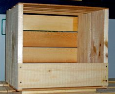 Chicken Nesting Boxes Plans | CHICKEN NESTING BOXES--SOLID WOOD
