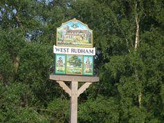 West Rudham village sign