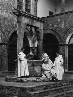 Foto d'Archivio - Abbazia di Monte Oliveto Maggiore