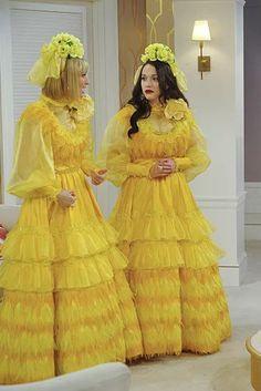 ugly yellow bridesmaid dress