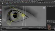 Maya 3D - Facial Rig - Part 18. Advanced Eye Rig