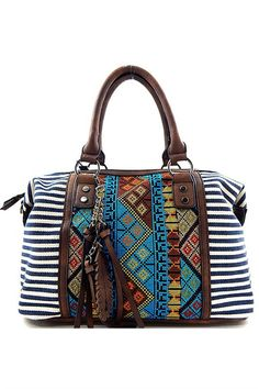 Free Soul Handbag - Navy