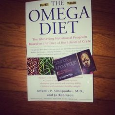Now at the next phase of my weight lost journey. I am starting the omega diet. I brought this book at @sourceofknowledge bookstore on Broad ...