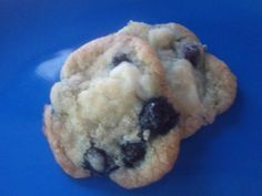 Blueberry cream cheese cookies