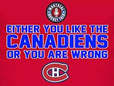 Word!! Montreal Canadiens, Hockey Pictures, I Am Canadian, Nhl, Birthday Posts, Hockey Stuff, Words, Man Cave, Favorite Things