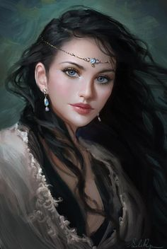 Love the eyes :) Princess Lauralye by Selenada on deviantART. I want her to do my cover art for my Fantasy Trilogy. Fantasy Magic, Chica Fantasy, Fantasy Women, Fantasy Girl, Fantasy Princess, Elven Princess, Princess Beauty, Moon Princess, Princess Anna