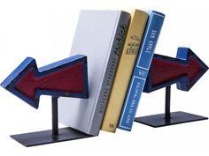 Podpórka na Książki Arrow (2/Set) — Podpórki na książki — KARE® Design