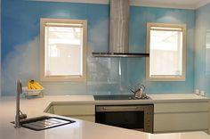 VIVANT GLASS | Printed Glass splashback