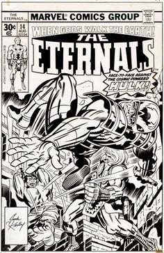Original Art Of Jack Kirby