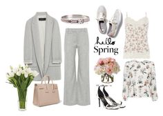 Winter to Spring Layers by istyled on Polyvore featuring polyvore, fashion, style, Dorothy Perkins, Zara, rag & bone, Keds, Yves Saint Laurent, Hermès, NDI, Diane James and clothing