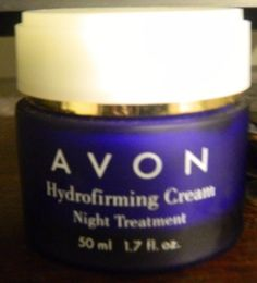 AVON Hydrofirming  SKIN Cream NIGHT TREATMENT FOR FACE AND NECK  1.7OZ #AVON