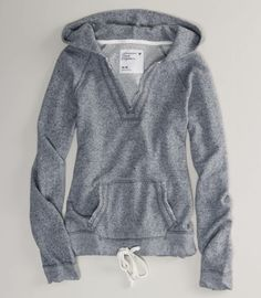 Terry Hooded pullover sweatshirt from American Eagle $39.50