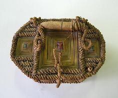 Taitoloma, Finland - Box made by a prisoner of war.