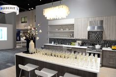 Champagne and Cupcakes hosted by @modenus in the Signature Kitchen Suite booth at KBIS 2017 #KBISkickoff