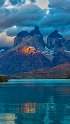 landscape_argentina_mountain_lake_patagonia_clouds_nature.  sorry, but I believe there is a mistake with the exactly place mentioned. Pehoé Lake and Torres del Paine, Chile.
