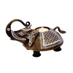http://www.indikala.com/small-elephant-tea-light-holder.html #We_Have_Customised Our #Assortment Only For You.  Avail #Blockbuster 🎗#Deals. #Limited Period Offer. Hurry! #Special Price Extra 30% Off on Home Decor Range #Bank Offer Extra 5% off* on Axis Bank Buzz Credit Cards #Bank Offer Extra 15% off* with digibank by DBST&C
