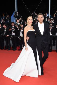 The Cutest Cannes Couples Ever | The Zoe Report - Blake Lively & Ryan Reynolds 2014