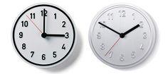richard lampert: alu alu wall clock - designboom