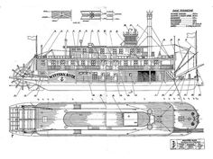 SHIPMODELL: handcrafted boat and ship models. Ship model plans , history and photo galleries. Ship models of famous ships. Mississippi, River Queen, Boat Drawing, Steam Boats, Old Sailing Ships, Plywood Boat Plans, Boat Building Plans, Paddle Boat, Wooden Ship