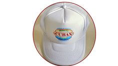 Tropical Cuban Holiday Baseball Cap Vintage Fashion Design www.tropicalcubanholiday.com