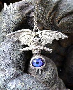 solid pewter king diamond eye of the witch pendant more witch pendant