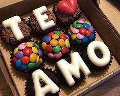 Image in Doce collection by cinderelamodernizada - San Valentin Regalos Caja Cake For Boyfriend, Cute Boyfriend Gifts, Diy Birthday, Birthday Gifts, Romantic Birthday, Birthday Candles, Cupcake Cakes, Cupcakes, Romantic Surprise