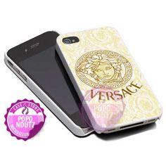 Versace Floral Logo Design  iPhone 4/4s/5/5s/5c Case  by popondutz, $15.00