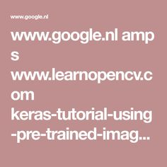 www.google.nl amp s www.learnopencv.com keras-tutorial-using-pre-trained-imagenet-models amp