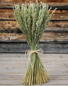 Wheat For A Wedding