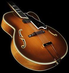 Used Mancuso Jazz Archtop Acoustic Guitar Sunburst