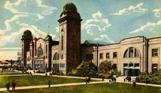 Ricoh Coliseum-When the first phase of construction was completed in 1922, the Coliseum was billed as the largest structure of its kind in North America. During 1942-1946, the CNE grounds were closed to the public and the Coliseum was known as #1 Manning Depot, housing recruits for the Royal Canadian Air Force.Renamed the Ricoh Coliseum in 2003, the structure is part of the Direct Energy Centre Complex