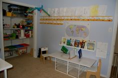Our Homeschool Room!