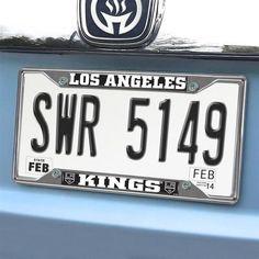 Chrome Metal Los Angeles LA Kings License Plate Frame
