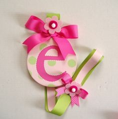 We have this in Emmalyn's room to hang her bows on....LOVE it.  Great gift