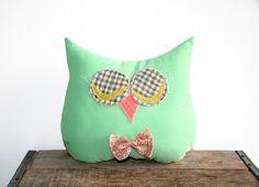 owl decorative throw pillow