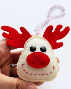 Holiday Reindeer Christmas Ornament