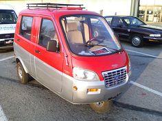 Wildfire (motor company) mini car, built in China