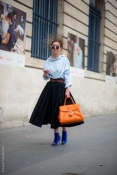 I love the wide skirt. Paris – Nayoung Kim. Photo © Wayne Tippetts