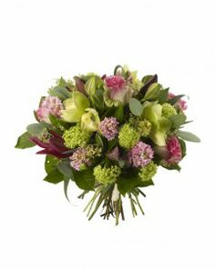 Orchid-and-Hyacinth-Bouquet