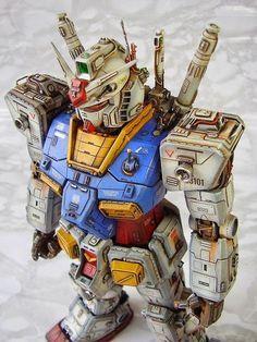"Custom Build: PG 1/60 RX-78-2 Gundam ""Steam Punk details"" - Gundam Kits Collection News and Reviews Gundam Toys, Gundam Art, Perfect Grade, Gundam Wing, Gundam Head, Gundam Astray, Gundam Wallpapers, Gundam Mobile Suit, Unicorn Gundam"