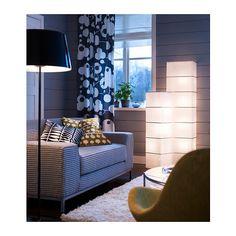 RUTBO Floor lamp, rectangular, white