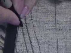 How to shape the front jacket lapel 2013 11 10 18 56 45 - YouTube
